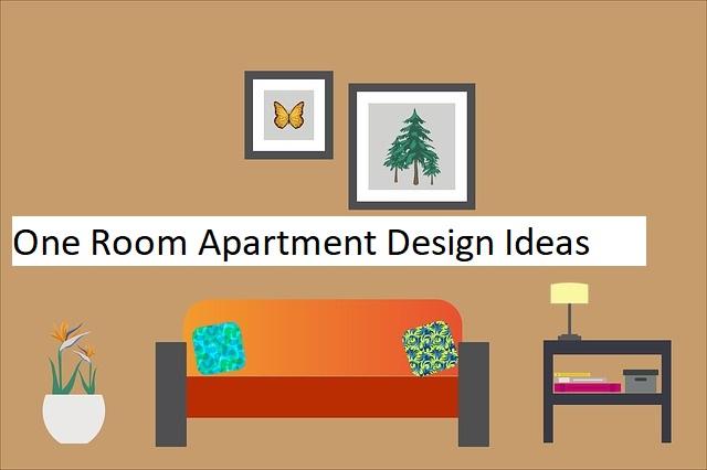 one room apartment design
