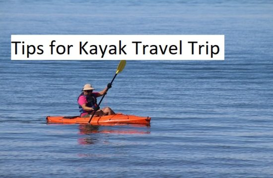 kayak travel trip