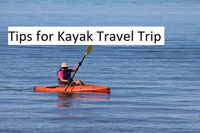 kayak travel trip