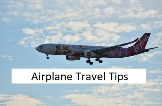 airplane travel tips